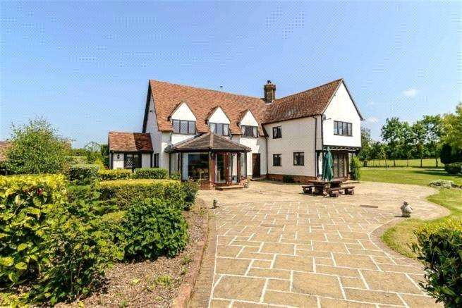 4 Bedrooms Detached House for sale in Colliers End, Ware, Hertfordshire