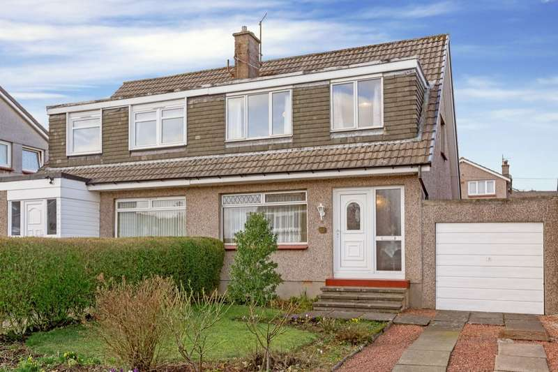3 Bedrooms Semi Detached House for sale in Rullion Road, Penicuik, EH26