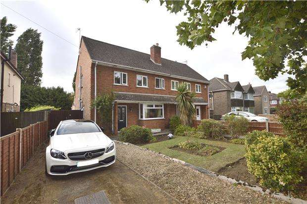 3 Bedrooms Semi Detached House for sale in Priors Road, CHELTENHAM, Gloucestershire, GL52 5AA