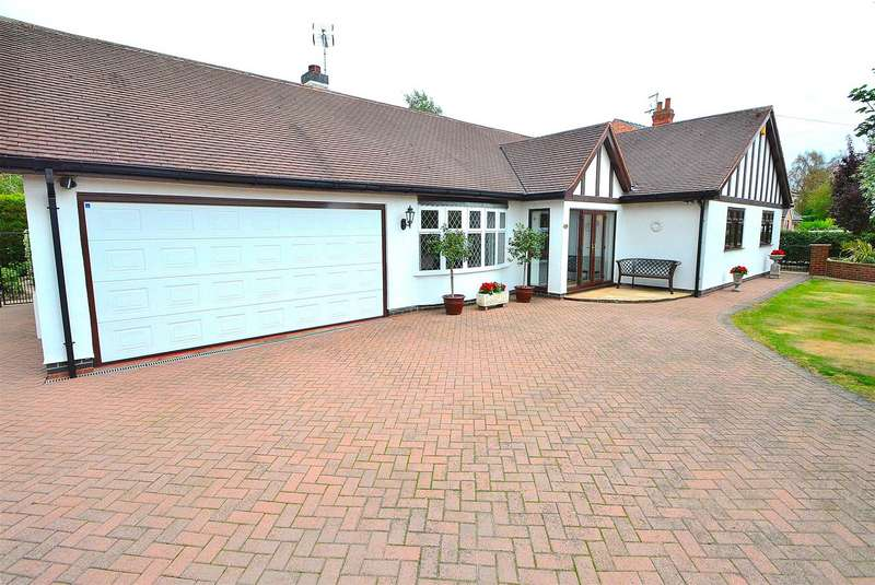3 Bedrooms Detached Bungalow for sale in Firfield Avenue, Breaston, Derby