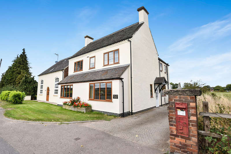 4 Bedrooms Detached House for sale in Uttoxeter Road, Foston, Derby, DE65