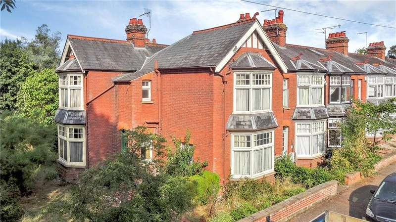 4 Bedrooms End Of Terrace House for sale in Owlstone Road, Newnham, Cambridge, CB3
