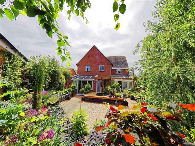 4 Bedrooms Detached House for sale in Masefield Place, Earl Shilton, Leicestershire