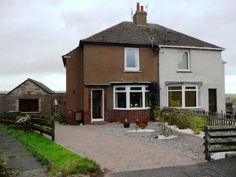 2 Bedrooms Semi Detached House for sale in Braehead Road, Pittenweem KY10