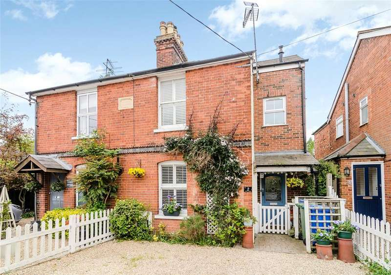 4 Bedrooms Semi Detached House for sale in Venner Cottages, Bracknell Road, Brock Hill, Winkfield
