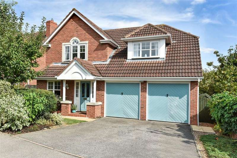 4 Bedrooms Detached House for sale in Peachwood Close, Grantham, NG31