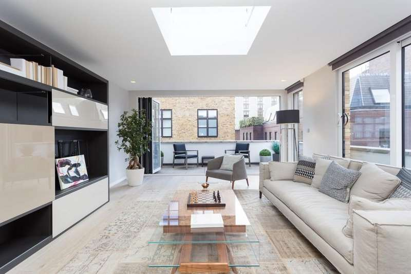 3 Bedrooms Apartment Flat for sale in Stukeley Street, Covent Garden