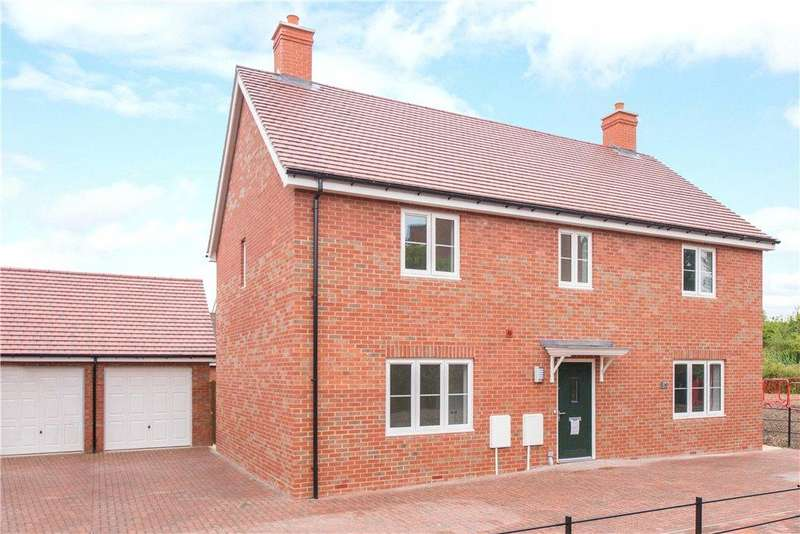 3 Bedrooms Semi Detached House for sale in Plot No. 041, Canalside View, Off Stocklake, Aylesbury