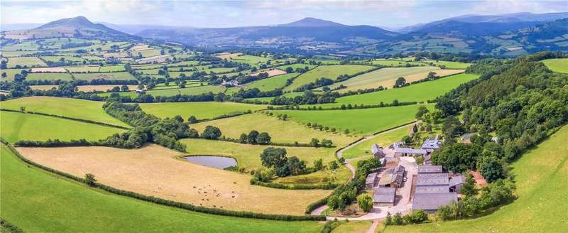 10 Bedrooms Farm Commercial for sale in Great Campston, Pandy, Abergavenny, Monmouthshire, NP7