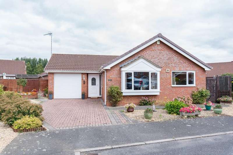 3 Bedrooms Detached Bungalow for sale in Haworth Way, Boston, PE21