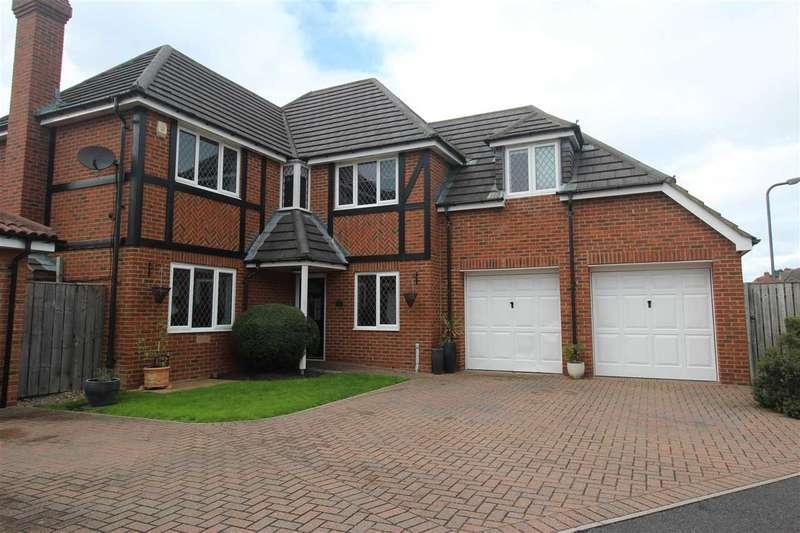 4 Bedrooms Detached House for sale in Lamonby Way, Southfield Gardens, Cramlington