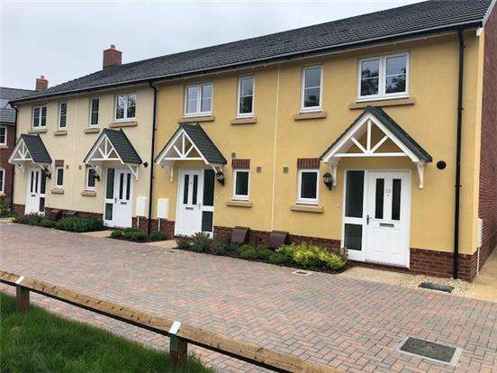 2 Bedrooms Terraced House for sale in Plot 22, The Halt, Cam, Dursley, Glos, GL11 5DJ