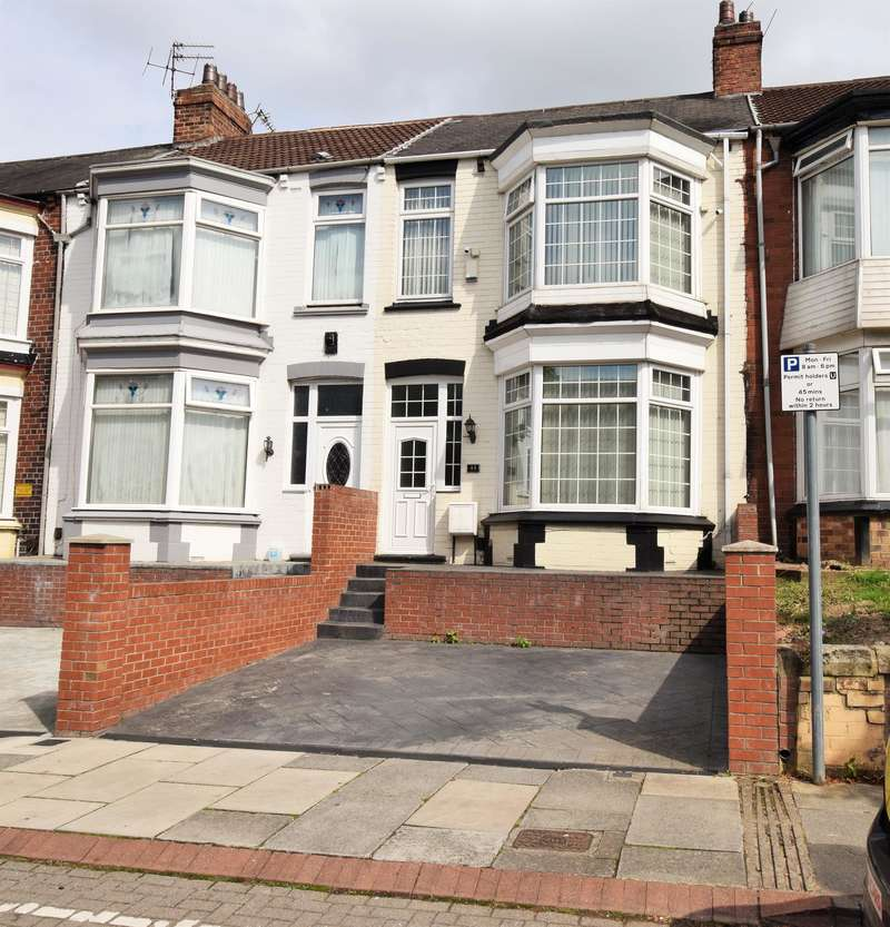 4 Bedrooms Terraced House for sale in Lothian Road, Middlesbrough, TS4 2HR