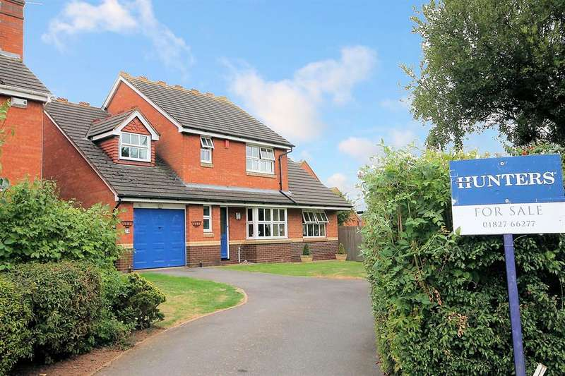 4 Bedrooms Detached House for sale in Mayfield, Wilnecote, Tamworth, B77 4PN