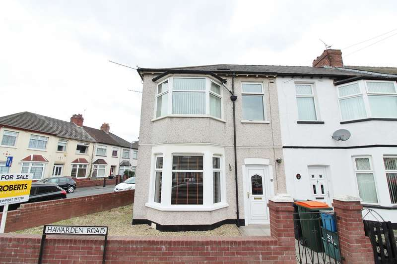 3 Bedrooms End Of Terrace House for sale in Hawarden Road, Newport, NP19