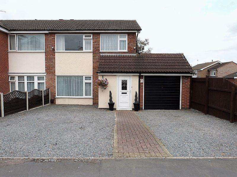 3 Bedrooms Semi Detached House for sale in Pembroke Avenue, Syston
