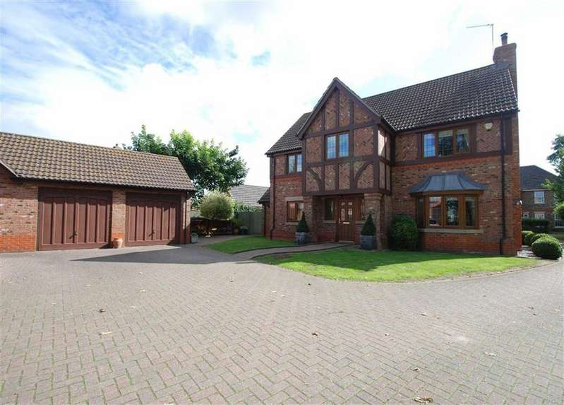 4 Bedrooms Detached House for sale in Laburnum Gardens, Kirton