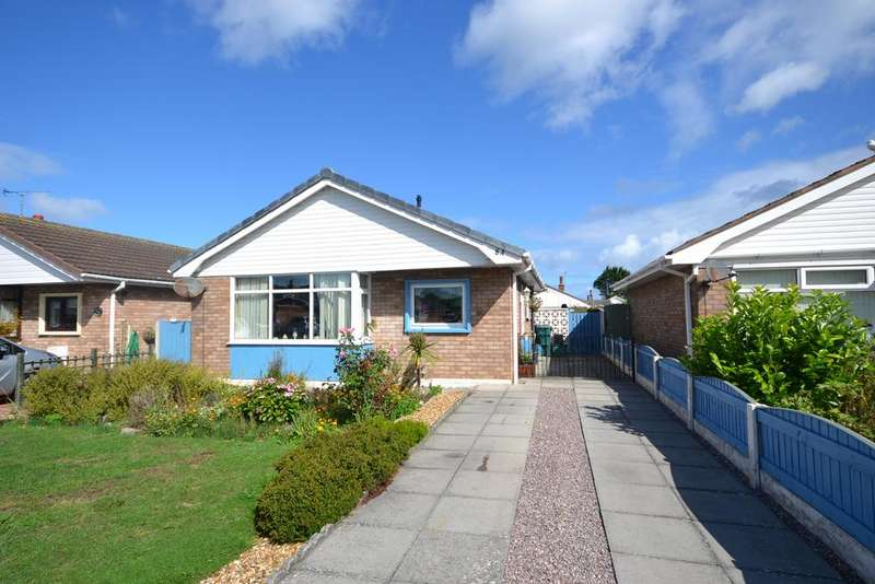 2 Bedrooms Detached Bungalow for sale in Lon Y Cyll, Pensarn, Conwy, LL22