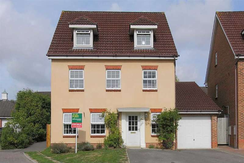 5 Bedrooms Detached House for sale in Honeysuckle Gardens, Andover