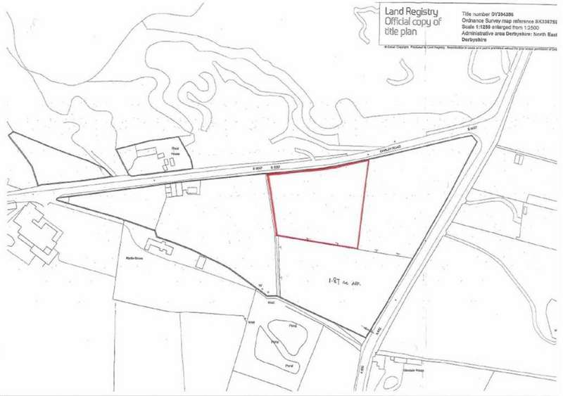 Land Commercial for sale in Land At, Darley Road, Stonedge, Ashover, S45