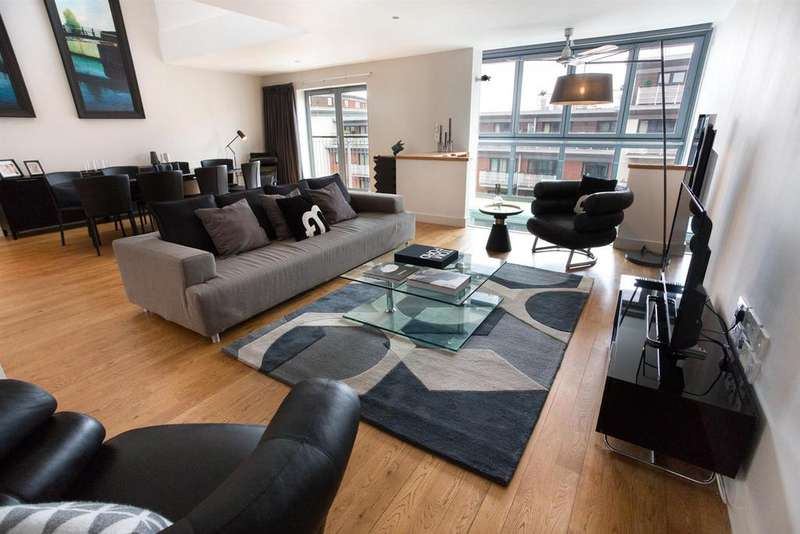 3 Bedrooms Penthouse Flat for sale in King Edwards Wharf, Sheepcote Street