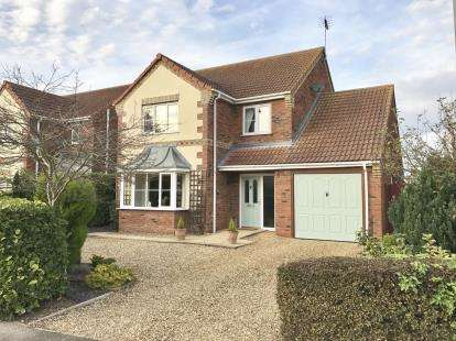 3 Bedrooms Detached House for sale in Post Office Lane, Sutterton, Boston, Lincolnshire