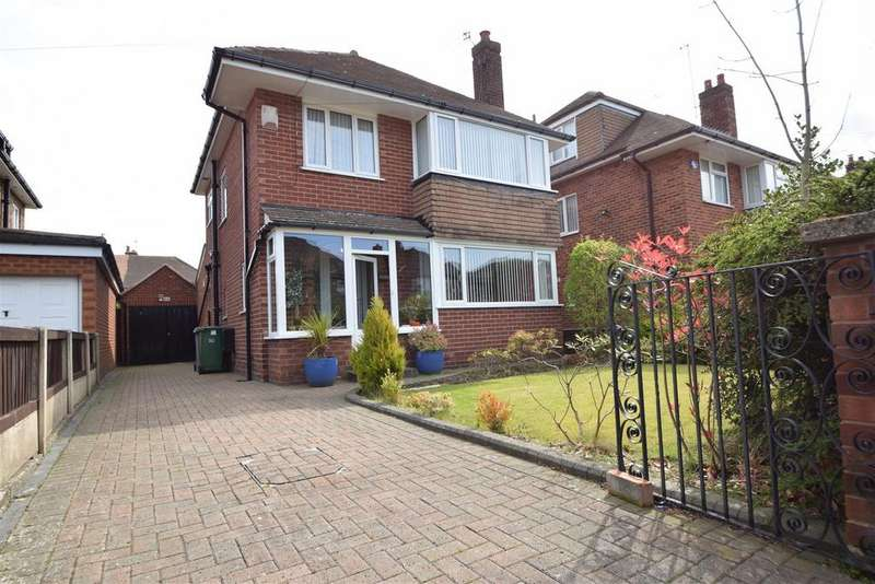3 Bedrooms Detached House for sale in Leaway, Greasby, Wirral