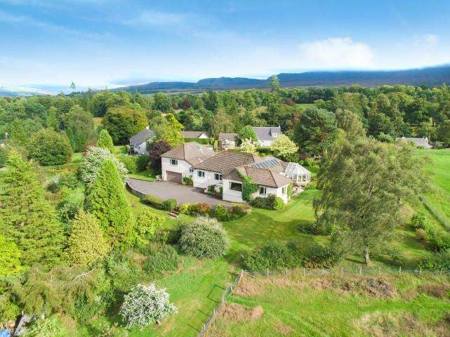 4 Bedrooms Detached Bungalow for sale in Kincaple Jenny Gunns Loan, Boquhan, G63 0RW
