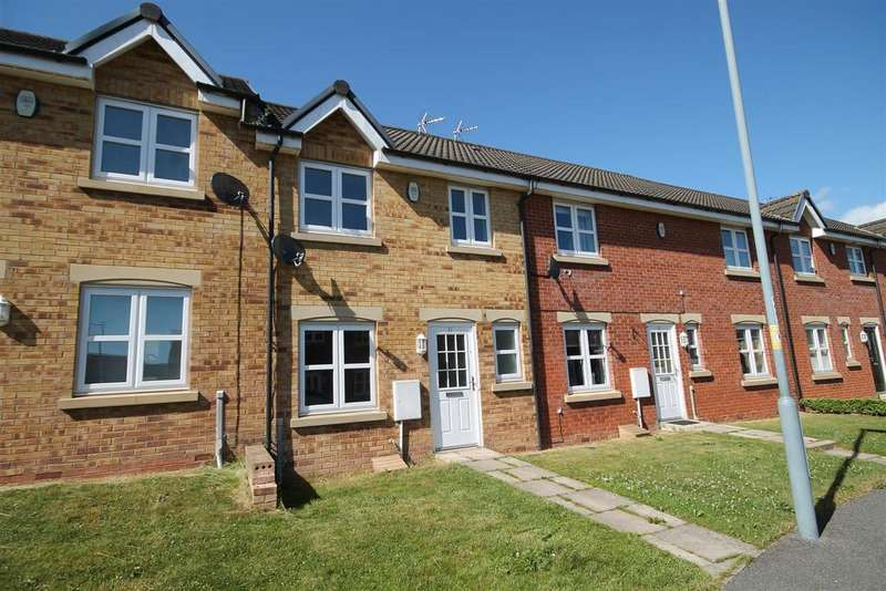 3 Bedrooms Terraced House for sale in Clemitson Way, Crook