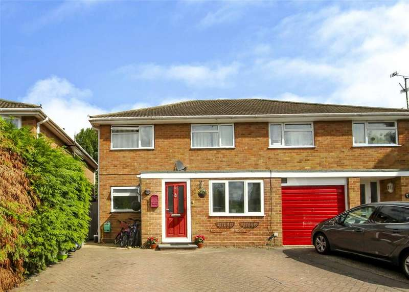 4 Bedrooms Semi Detached House for sale in Fairfax, Bracknell, Berkshire, RG42