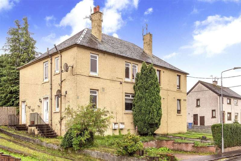 2 Bedrooms Flat for sale in 14 Ochilview, Devonside, Clackmannanshire, FK13