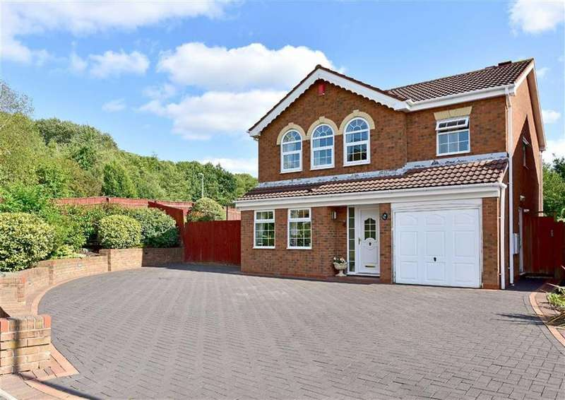 4 Bedrooms Detached House for sale in 8, Boscobel Close, Milking Bank, Dudley, West Midlands, DY1