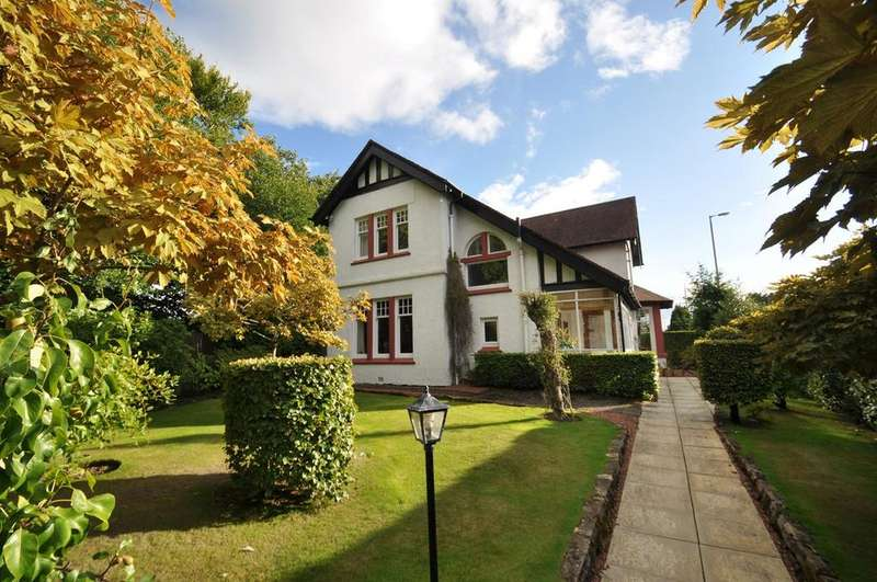 3 Bedrooms Detached House for sale in Ayr Road, Giffnock, Glasgow, G46