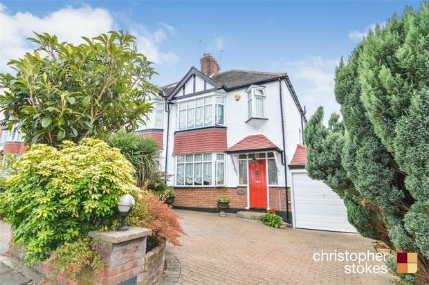 3 Bedrooms Semi Detached House for sale in Oakwood Crescent, London