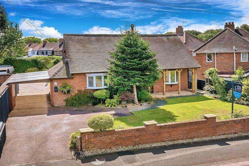 3 Bedrooms Detached Bungalow for sale in Coppice Lane, Brownhills, Walsall