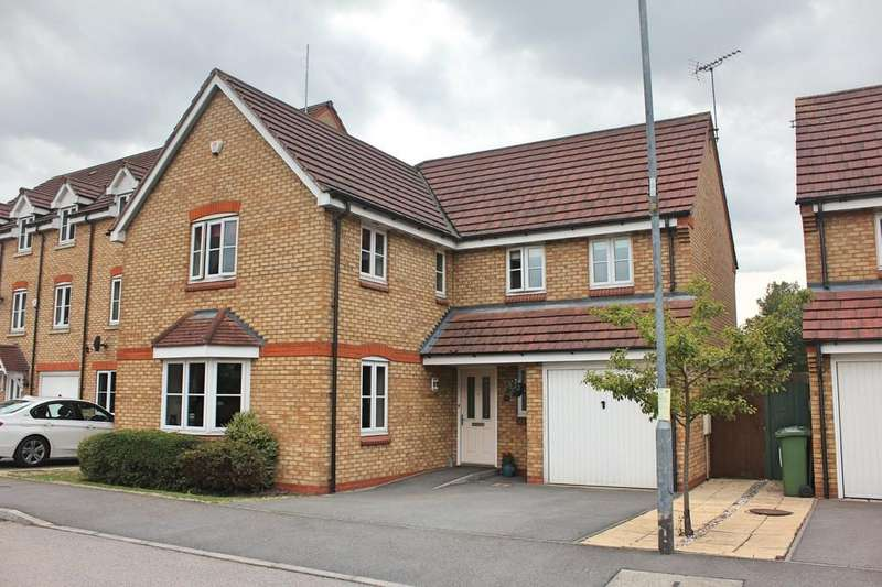 4 Bedrooms Detached House for sale in Parnell Close, Littlethorpe, Leicester