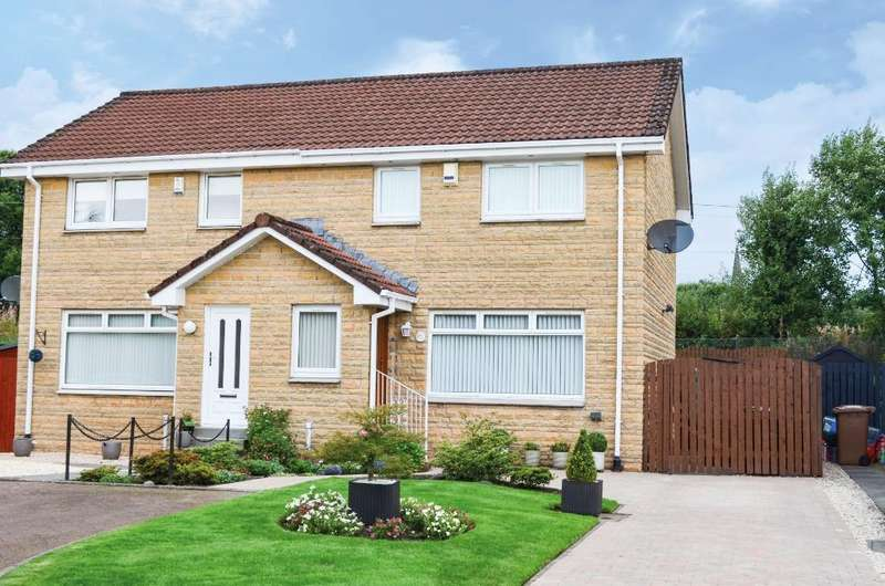 3 Bedrooms Semi Detached House for sale in Cloverleaf Path, Alexandria, West Dunbartonshire, G83 0SL