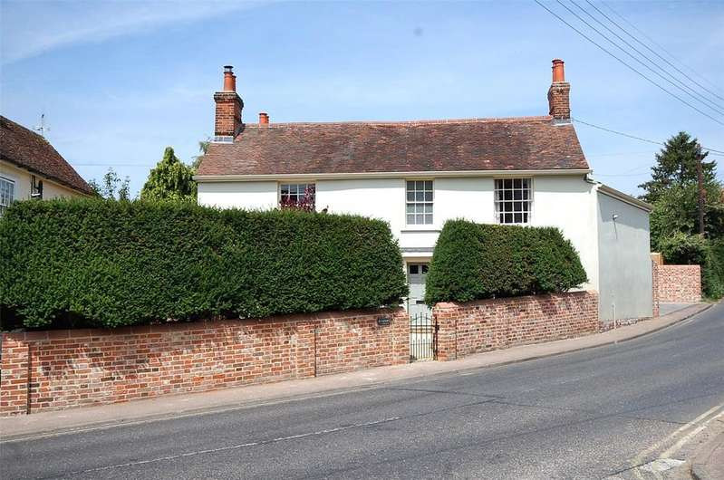 3 Bedrooms Detached House for sale in High Street, Bures St. Mary