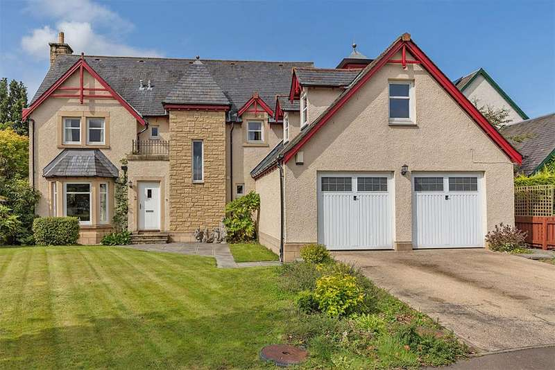 5 Bedrooms Detached House for sale in 2 The Green, Cardrona EH45 9LR