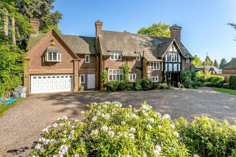 5 Bedrooms Detached House for sale in Ladywood Road, Four Oaks Park,Sutton Coldfield