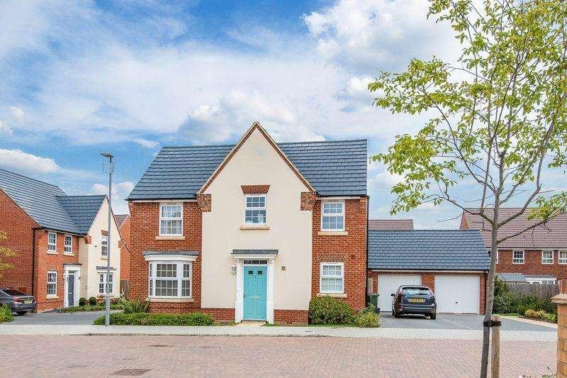 4 Bedrooms Detached House for sale in Swan Hunter Close, Brooklands, Milton Keynes