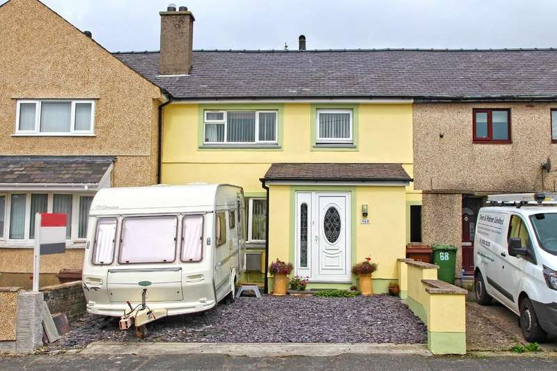 3 Bedrooms Terraced House for sale in Y Wern, Y Felinheli, North Wales