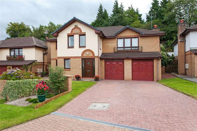 4 Bedrooms Detached House for sale in Greenlaw Drive, Newton Mearns, Glasgow