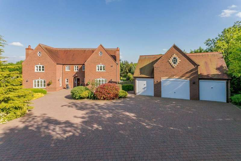 5 Bedrooms House for sale in Weaverlake Drive, Yoxall, Burton-On-Trent, Derbyshire