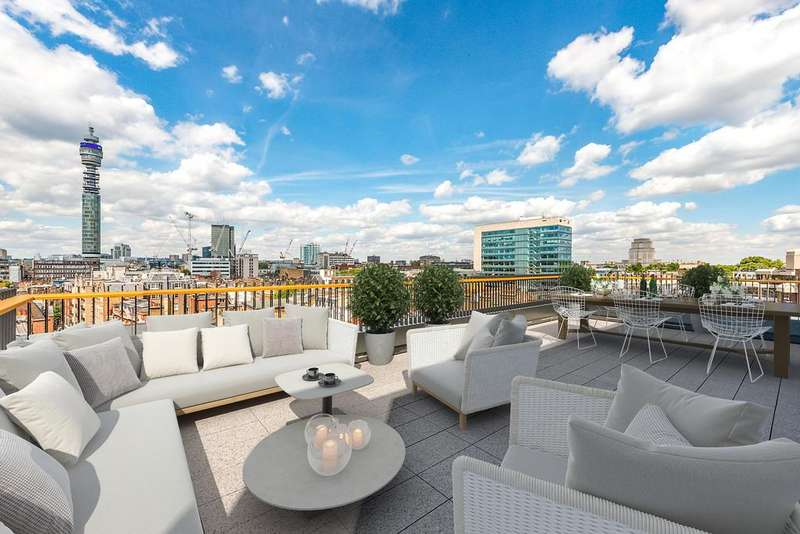 4 Bedrooms Apartment Flat for sale in Rathbone Square, W1