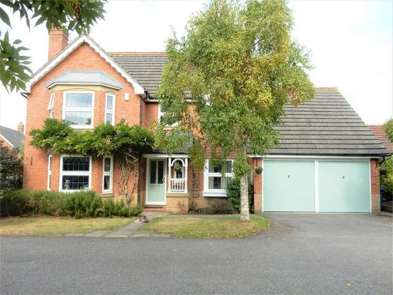 4 Bedrooms Detached House for sale in Blamire Drive, Binfield, BRACKNELL, Berkshire