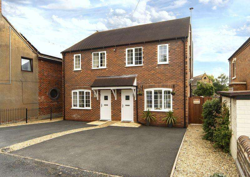 3 Bedrooms Semi Detached House for sale in Burnt Hall Lane, Madeley, Telford, Shropshire.
