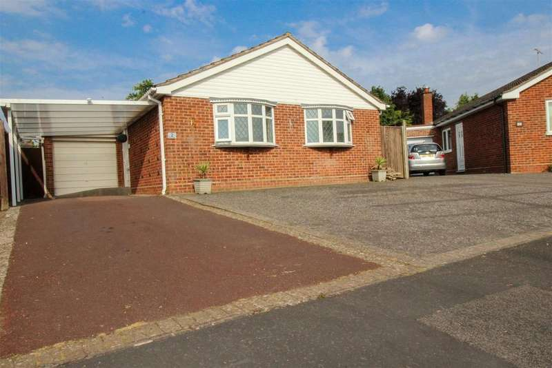 2 Bedrooms Detached Bungalow for sale in Box Close, Whitnash, Leamington Spa