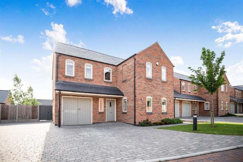 4 Bedrooms Detached House for sale in 'The Laurels', Orchard Lea Close, Sapcote, Leicester