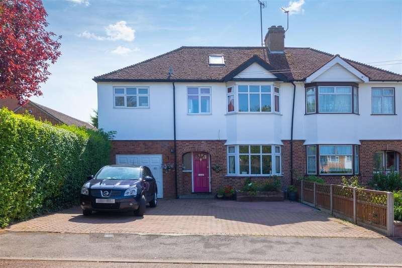 5 Bedrooms Semi Detached House for sale in Cambridge Road, Hitchin